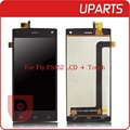 "A+ High Quality 4.5"" For Fly FS452 LCD Display + Touch Screen Assembly LCD Digitizer Glass Panel Replacement Free Shipping"