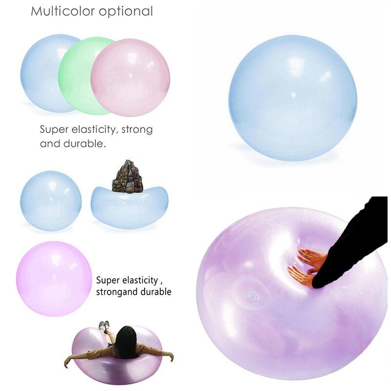 Шары для улицы, вечерние, забавные игрушки, воздушный шар, надувной игрушечный мяч, удивительный, устойчивый к разрыву, супер подарок, надувной, случайный цвет