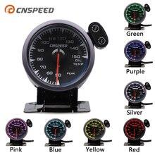 """CNSPEED 2,"""" 60 мм 7 цветов Универсальный датчик температуры масла для 12 В Авто измерительное устройство для автомобиля с 1/8 npt сенсором POD"""