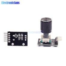 KY-040 360 Grad Rotary Encoder Modul Brick Sensor Schalter mit 15 × 16,5mm Potentiometer Drehknopf Loch Kappe Für arduino