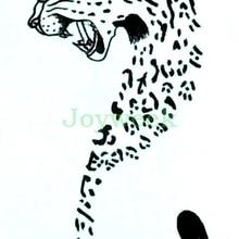 Purple Leopard Fur Star Logo II Turnbeutel Leo Tatouage SYNTHETIQUE étoile Cat
