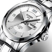 Schweiz Binger Männer Uhren Luxus Marke Japan Miyota Automatische Mechanische Bewegung Handgelenk Sapphire Wasserdichte Uhr Männer 8051