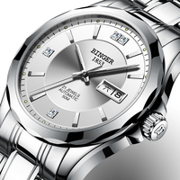 Switzerland Binger Men Watches Luxury Brand Japan Miyota Automatic Mechanical Movement Wrist Sapphire Waterproof Watch Men 8051