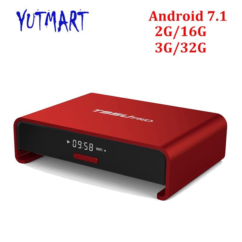 T95U Amlogic S912 Octa core android 6.0 tv box 2GB 16GB BT4.0 Dual band wifi 2.4G/5G 4k*2K H.265 Smart set top box chycet t95r pro amlogic s912 smart android 6 0 tv box octa core 2gb 16gb 4k 2k dual band wifi smart tv player set top box