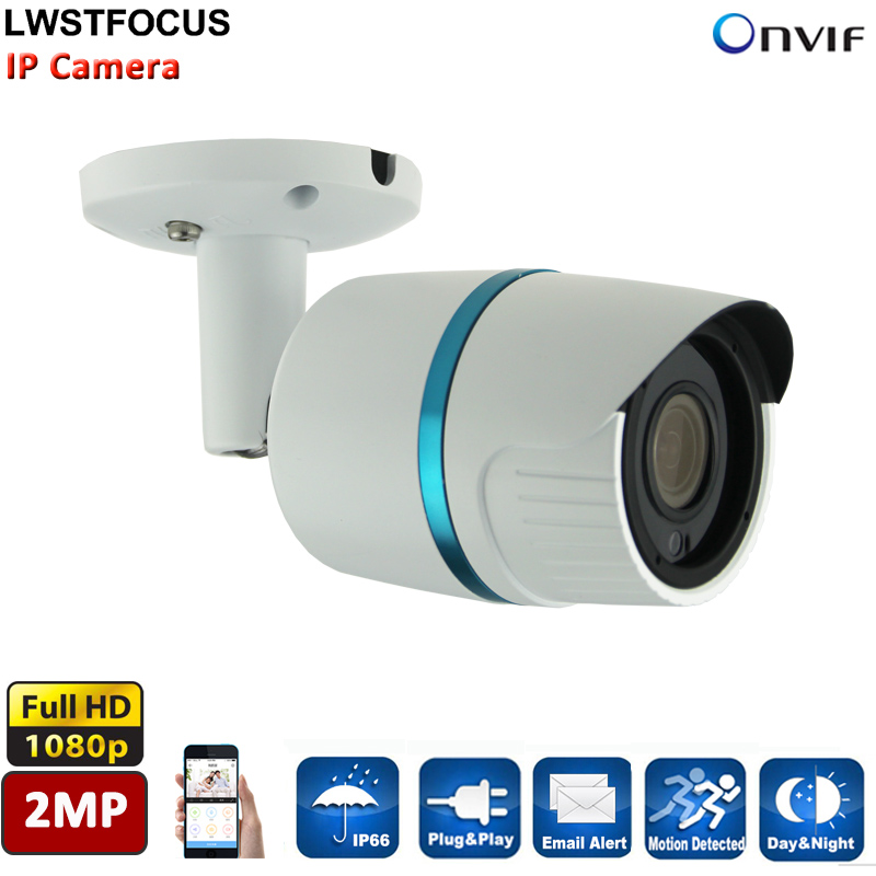 LWSTFOCUS HD Network Camera HI3516C Sony IMX323 1080p 2MP IP camera outdoor Night Vision CCTV 3MP HD Lens H.264 P2P ONVIF 2.4 pu aimetis h 264 2mp 6mm lens ip camera p2p onvif ip camera 720p hd cctv camera 1 0mp indoor night version network ip camera