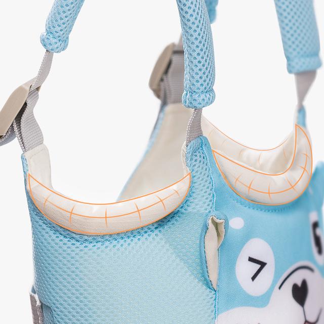 SUNVENO New Baby Walker Toddler Wings Walker Cartoon Pig Safety Walking Belt Baby Harnesses Leashes Baby Walk Assistant Belt