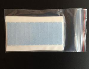 Image 3 - Hotsale Lichtblauw kleur Super hoge kwaliteit sterke dubbele tape haarverlenging tape haarverlenging tape