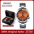 100% Оригинальные часы seiko автоматические механические Diver водонепроницаемые светящиеся Men'sWatch Asia limited edition SRPC95J универсальная гарантия