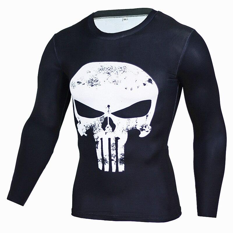 Rashgard Superman Sport Shirt Men 3D Print Quick-drying Running T-Shirts Compression Shirt Sport Fitness Tops Gym Tshirt 3