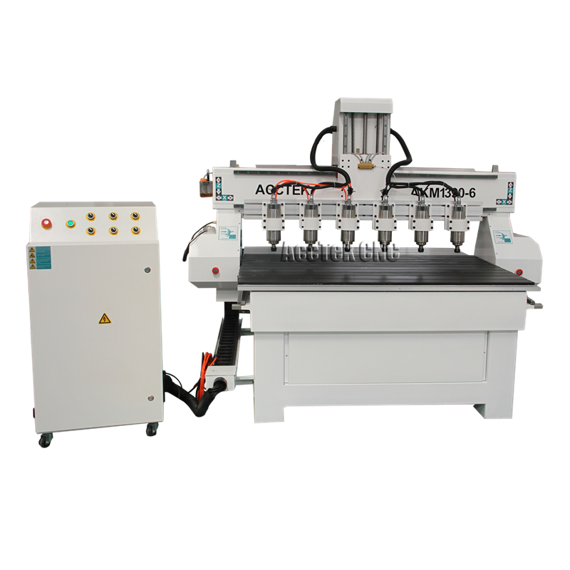 Multi Head Spindle Woodworking Cnc Router Machine For Sale Water Cooling Spindle Mach3 Controller