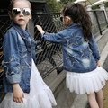 children's denim jacket Girls denim jacket girl Korean style fashion star jeans clothing girls coat