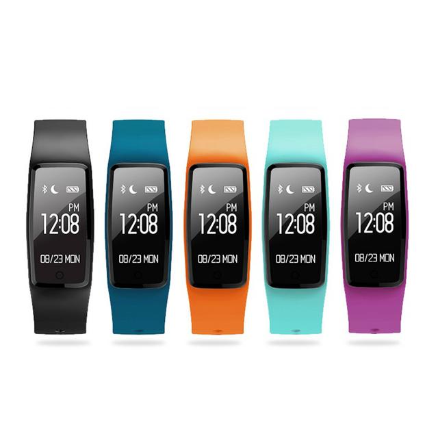 Novo S1 Bluetooth Ouvir Monitor de Freqüência Dinâmica de Banda Inteligente Pulseira Saudável Do Esporte Da Aptidão Rastreador de Chamadas Lembrete Pulseira À Prova D' Água