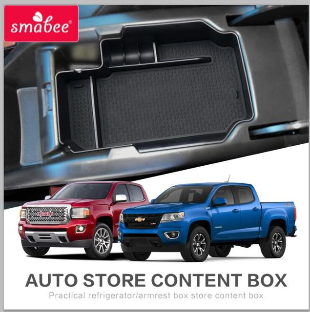 Chevy Colorado Accessories >> Smabee Storage Box For Chevrolet Colorado Chevy 2015 2018 Gmc Canyon