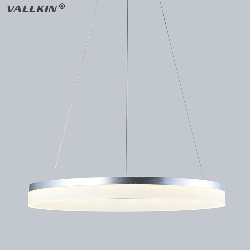 VALLKIN LED Pendant lights Modern Kitchen Acrylic Suspension Hanging Ceiling Lamp Design Lighting for Indoor Deco Home 9W FCC CE dimmable pendant lights led crystal lighting hanging lamps indoor home light with remote control for hallway indoor home deco