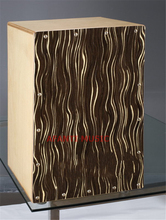 Afanti Music Birch Wood / Natural Cajon Drum (KHG-121)