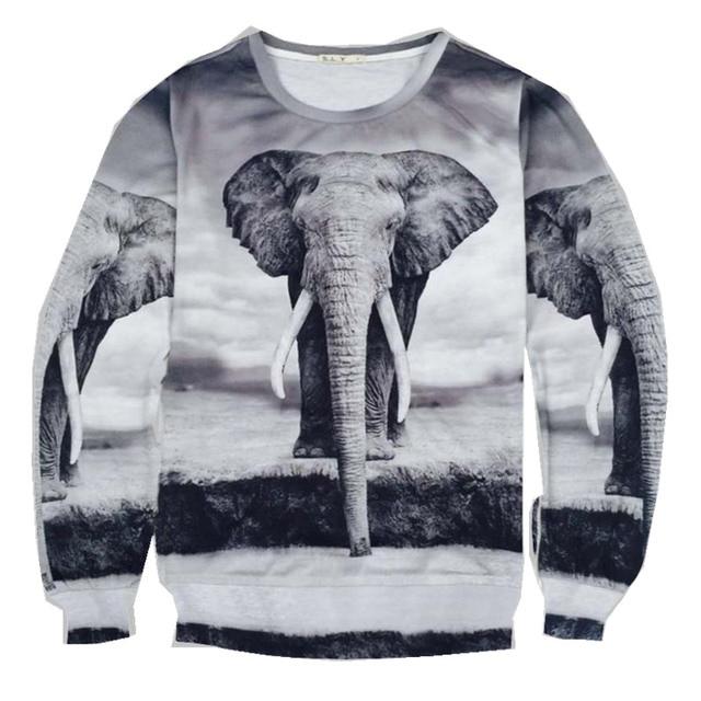 05c5f72d1ca3 2015 Bape Shark Hoodie Elephant Element Men's 3D Hoodies Printing Animal  Eagle Sweatshirts For Women Streatwear Clothing M-XXL