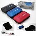 Nueva versión de Viaje Carry Almacenamiento Bolsa de Carring Caso Duro Para Nintendo Nueva 3DS NEW3DS EVA Bolsa Caso Bolsa Protectora Con Mezzanine