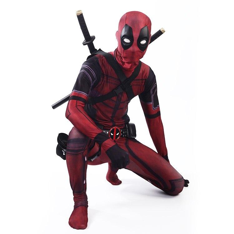 Deadpool Cosplay Costume Set 14