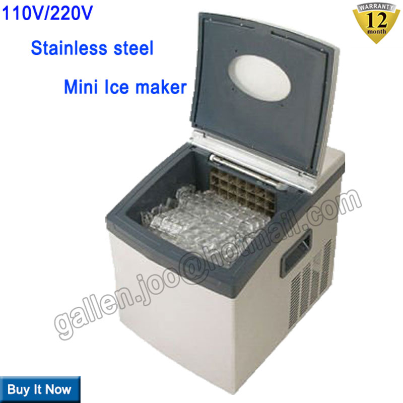 20kg 24hrs smart portable ice maker home ice cube maker for Ice makers for sale