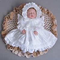 2018 Autumn Winter Baby Girs Newborn Dress for Christening 1 Year Infant Toddler Baby Birthday Dress Long Sleeve Christmas Dress