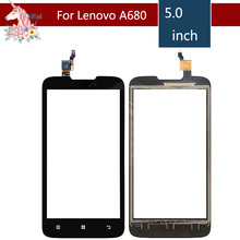 5.0 For Lenovo A680 A 680 LCD Touch Screen Digitizer Sensor Outer Glass Lens Panel Replacement цена