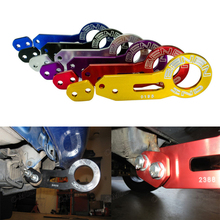 car General trailer parts trailer hitch After the car pull coupler Cart parts Racing Billet Aluminum Tow Hook Front Tractionrope
