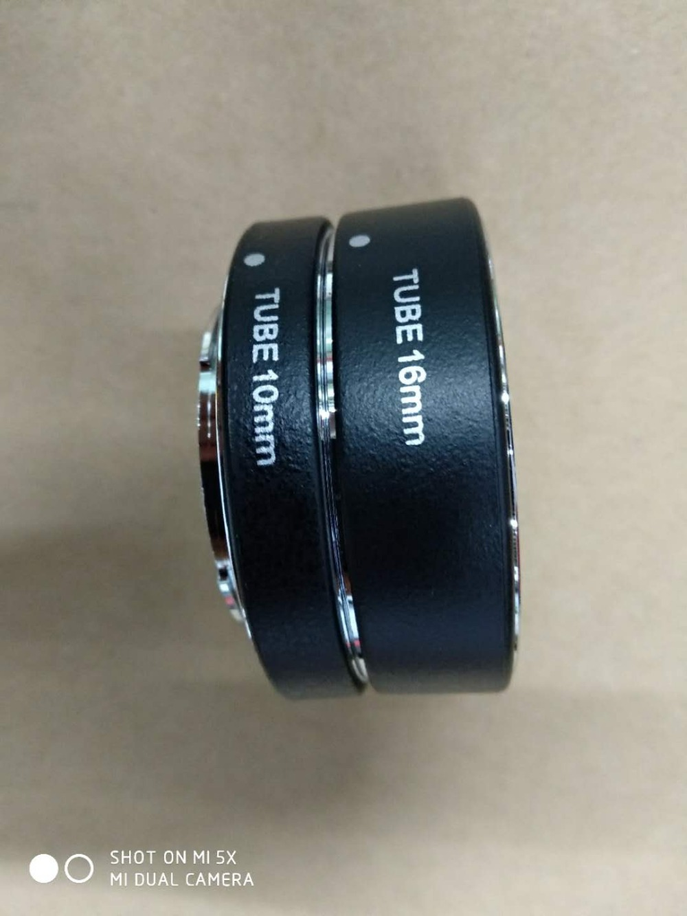 Adaptateur d'objectif micro anneau de gros plan adaptateur d'objectif macro pour Olympus et Panasonic M4/3 auto focus EPL7/GF8