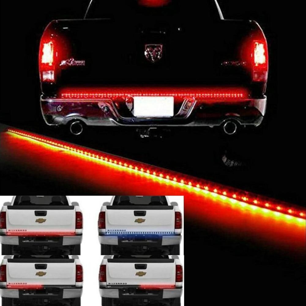 Hot sale 22w 60 flexible led truck tailgate light bar 12v 72led 22w 60 aloadofball Image collections