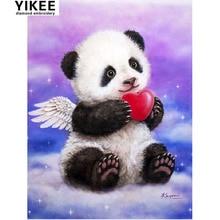 diamond painting cross stitch animal,full square painting, 5d diy, embroidery panda