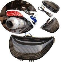 Moto Fanale Posteriore Fanale posteriore Con LED Indicatori di direzione Per Honda CBR CBR600RR 600RR CBR 600 RR 2003-2006 CBR1000RR 2004-2007 2005