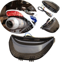 Motosiklet arka lambası kuyruk işık LED dönüş sinyalleri ile Honda için CBR600RR CBR 600RR CBR 600 RR 2003 2006 CBR1000RR 2004 2007 2005