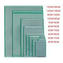 5 шт/лот 5x7 4x6 3x7 2x8 6x8 7x9 двухсторонний медный Прототип