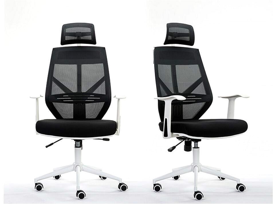 Ergonomic Executive Office Chair Mesh Computer Chair Adjustable Back Cushion Swivel Lifting Sponge Cushion Sedie Ufficio Cadeira