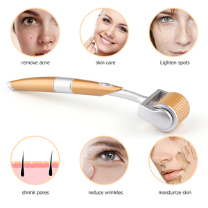 Image 5 - מקצועי ZGTS טיטניום Derma רולר 192 מחטי Microneedling עבור פנים טיפוח עור ושיער אובדן טיפול יופי כלי