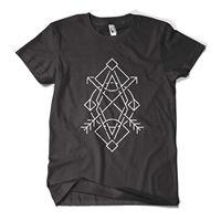Print T Shirt Men Brand Clothing Geometry T Shirt Fashion Print Indie Hipster Urban Design Mens