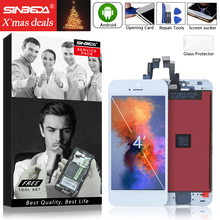 Sinbeda 2pcs/lot  LCD For iPhone 5 5S LCD Display Touch Screen Digitizer Assembly Replacement for iPhone 5 5C LCD Screen new lcd replacement for iphone 5c lcd screen display with touch screen digitizer assembly black free shipping