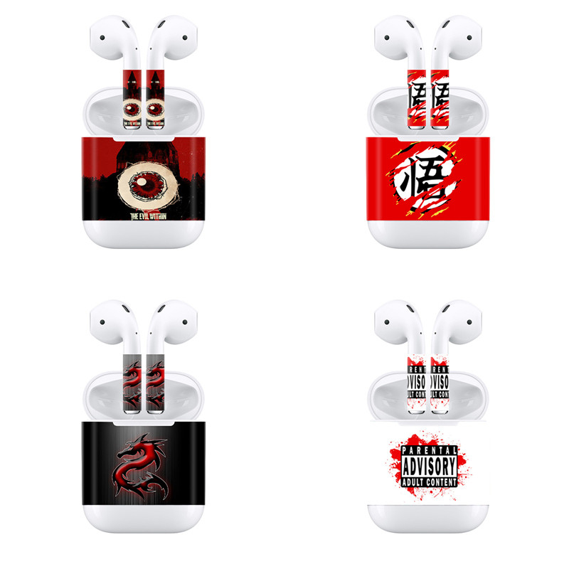 c6d12ffffaf Detail Feedback Questions about Custom Design Skin Sticker for Apple AirPods  for Earphone Headset Vinyl Decal on Aliexpress.com   alibaba group