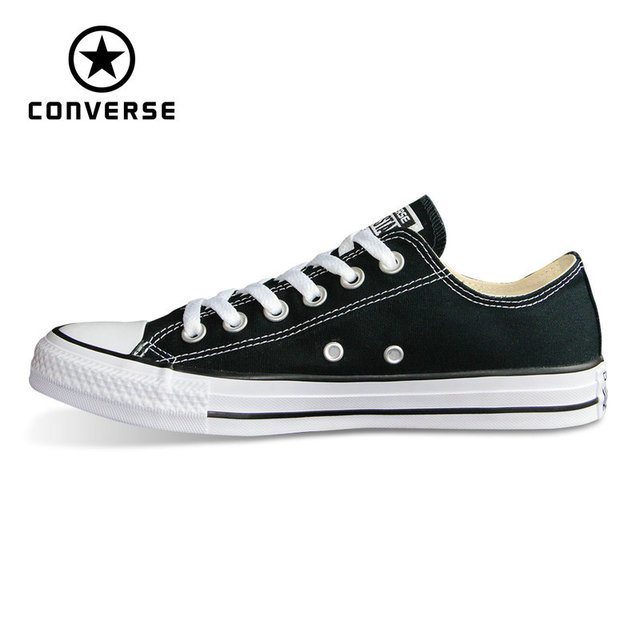 New Original Converse all star shoes Chuck Taylor low style man and women s  unisex classic sneakers Skateboarding Shoes 101001-in Skateboarding from  Sports ... 8558624edcbc