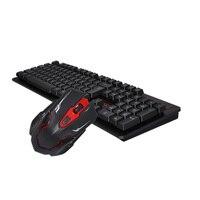 Горячая мышь Клавиатура Набор Беспроводная игровая клавиатура и мышь с подсветкой 1600 точек/дюйм игровая мышь геймер ноутбук мышь