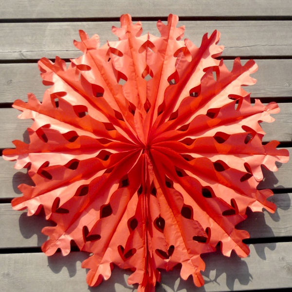 Decor Cool Large Paper Snowflake Decorations Home Design Great Wonderful On
