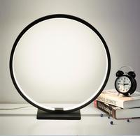 A1 modern minimalist Home Furnishing creative lamp acrylic paint warm living room bedroom bedside lamp decoration lamp FG524