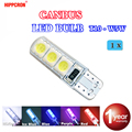 Светодиодный фонарь hippcron T10 194 W5W 6SMD 5050, 1 шт.