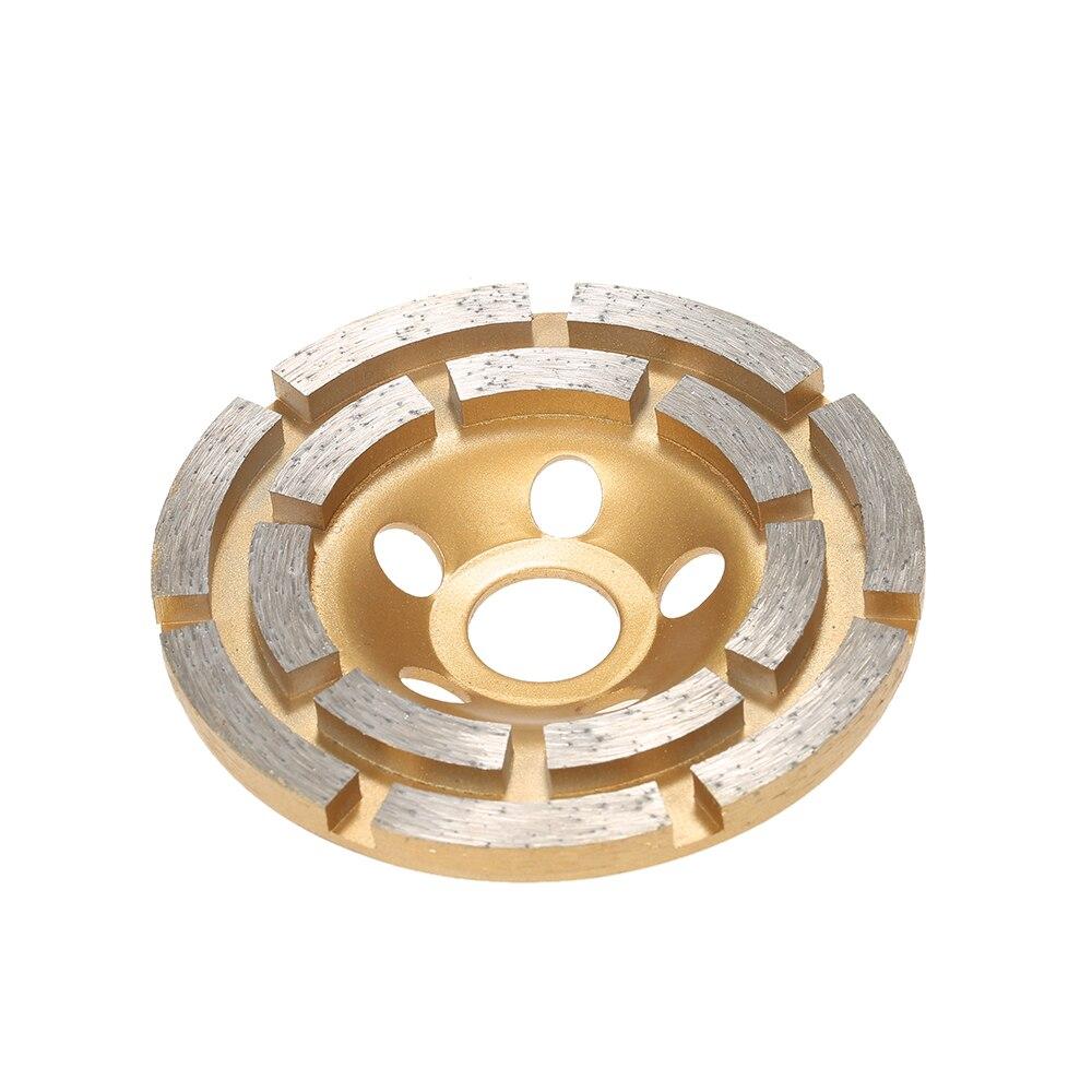 1 x Diamond Segment Grinding Wheel Disc Marble Dome Flange 100mm//3.94inch Wheel