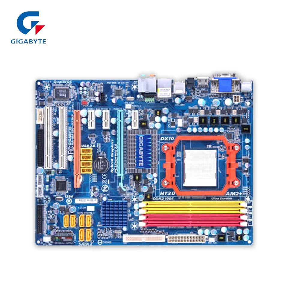 все цены на  Gigabyte GA-MA78G-DS3HP Original Used Desktop Motherboard MA78G-DS3HP 780G Socket AM2 DDR2 SATA2 USB2.0 ATX  онлайн