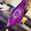 Desigual Cachecol de Caxemira 2016 de Moda de Nova Mulheres Lenços Xale Círculo Pena Elegante Do Vintage Cashmere Scarf Longo tamanho 180*70