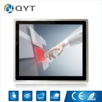 19 inch LED Flat capacitive touch screen pos system Customer AIO Intel 3337U 1.8GHz 1280x1024 4G RAM