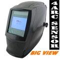 Visão ampliada eara sensor 4 arco Solar filtro auto escurecimento TIG MIG MMA máscara de solda/capacete cap/soldador/lente de solda/olhos máscara/dispositivo