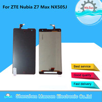M Sen LCD Screen Display Touch Digitizer For ZTE Nubia Z7 Max NX505J Black Free Shipping