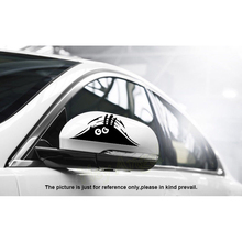 Funny Peeking Monster Car Sticker Car-Styling Accessories Reflective Waterproof Fashion Car Sticker Vinyl Decal Decoration Stick
