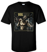 Cool VOLBEAT Danish Seal The Deal and Let's Boogie T-shirt Sz S M L XL 2XL 3XL